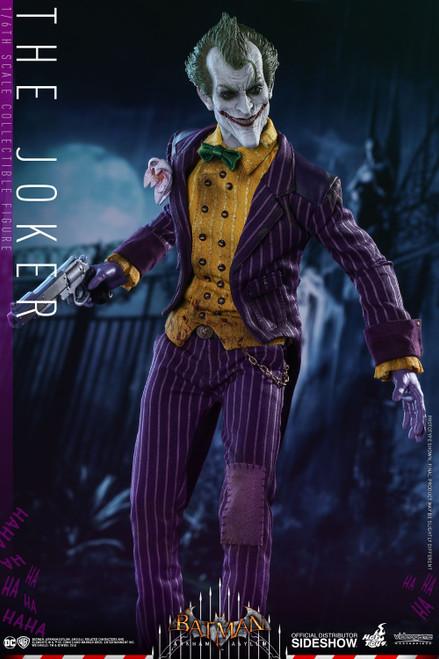THE JOKER: Batman ARKHAM ASYLUM Hot Toys VGM27 1:6 Scale Figure_NRFB