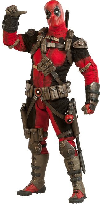 Marvel's DEADPOOL 1:6 Scale SIDESHOW Wade Wilson
