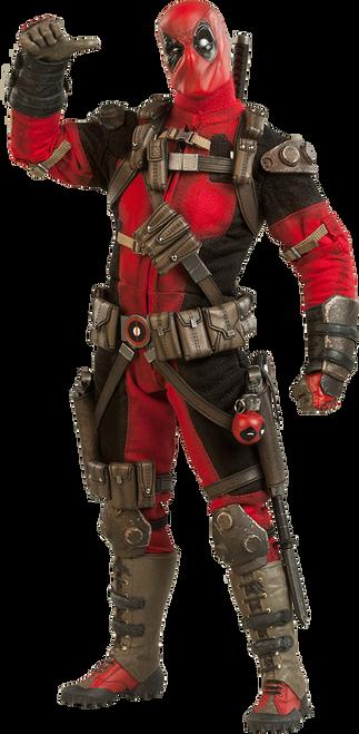 Marvel's DEADPOOL 1:6 Scale SIDESHOW Wade Wilson