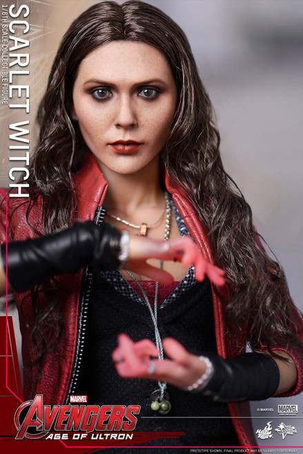 SCARLET WITCH Avengers AGE OF ULTRON by Hot Toys 1:6 Scale