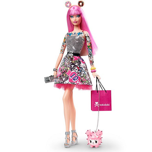 Barbie® TOKIDOKI™ 2015 BLACK LABEL Collector Anniversary Set_CMV57 _NRFB