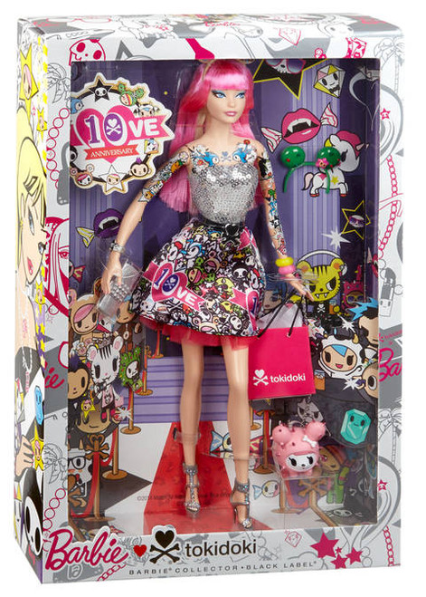 TOKIDOKI 10th ANNIVERSARY BARBIE CMV57