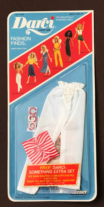 1979 DARCI RED, WHITE & YOU Cover Girl Fashion Finds
