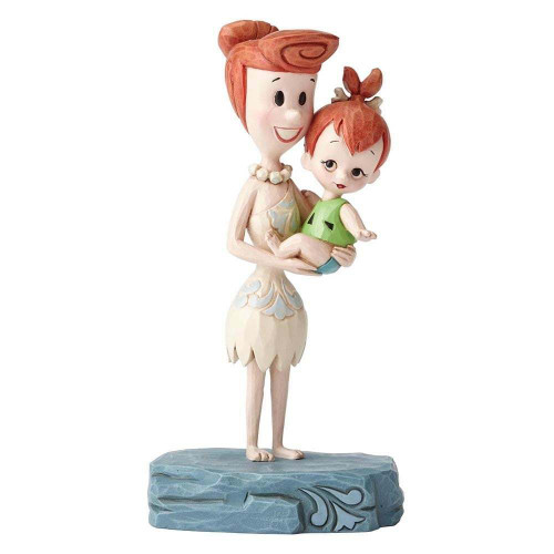 "THE FLINTSTONES WILMA & PEBBLES ""BEAUTIFUL BOND"" by Jim Shore"