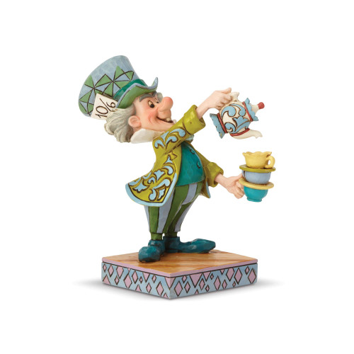 """THE MAD HATTER in """"A SPOT OF TEA"""" by Jim Shore"""