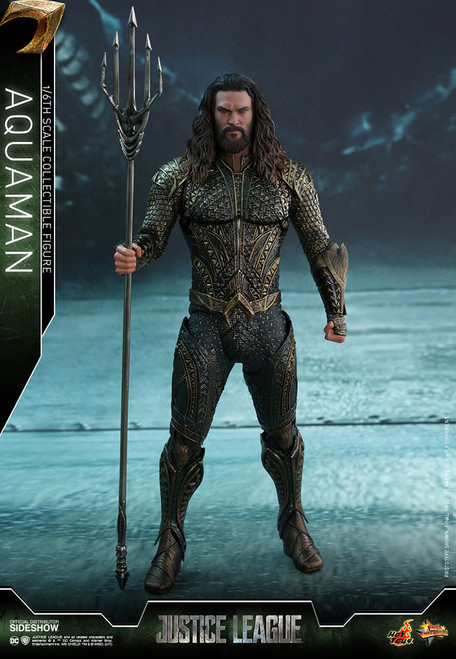 AQUAMAN Jason Momoa DC JUSTICE LEAGUE Hot Toys 1:6_MMS447