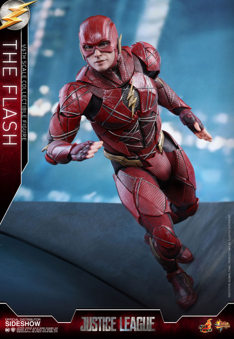 THE FLASH (Ezra Miller/Barry Allen) DC JUSTICE LEAGUE Hot Toys 1:6