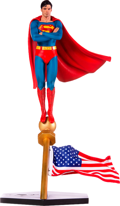 1978 SUPERMAN: THE MOVIE 1:10 Deluxe Art Scale Statue by Iron Studios