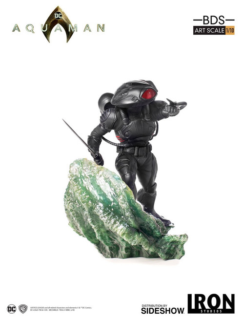 BLACK MANTA Aquaman 1:10 Art Scale Statue by Iron Studios
