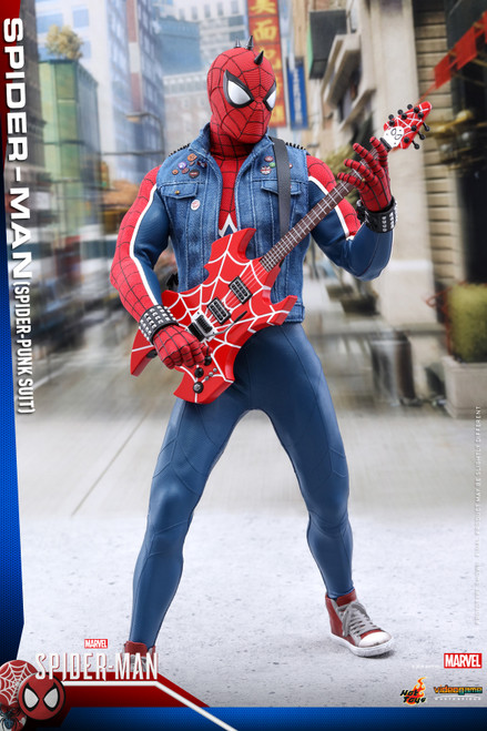 "SPIDER-MAN ""SPIDER-PUNK SUIT"" (PS4 Video Game) Hot Toys 1:6_VGM32 (903799)"