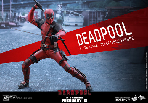 Marvel's DEADPOOL (Wade Wilson) 1:6 Scale RYAN REYNOLDS HOT TOY Figure_MMS347