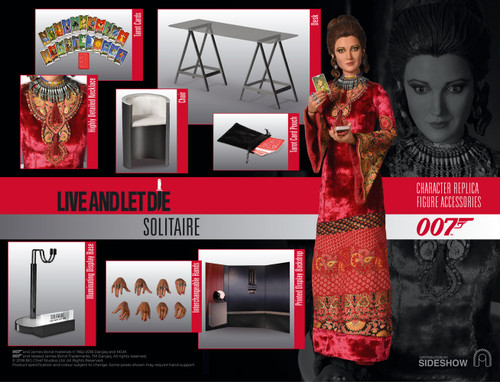 SOLITAIRE in LIVE AND LET DIE (Jane Seymour) 1:6 Scale BIG CHIEF Figure_BCJB0011