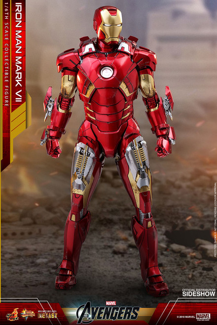 Avengers IRON MAN MARK VII 1:6 Scale Figure by HOT TOYS_(Diecast) MMS500-D27