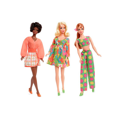1968 MOD FRIENDS 50th ANNIVERSARY GIFTSET™ Gold Label Barbie®