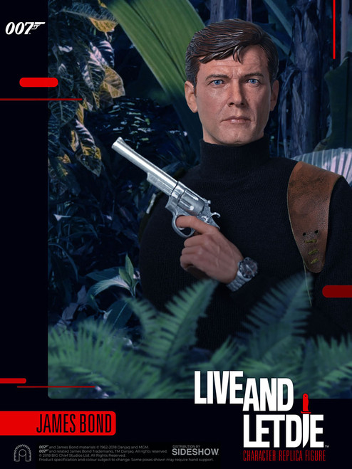 JAMES BOND (Roger Moore) Live and Let Die Sixth Scale Figure by BIG Chief Studios_BCJB0009