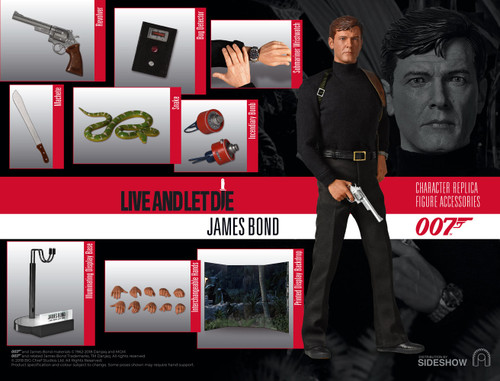 JAMES BOND (Roger Moore) Live and Let Die Sixth Scale Figure by BIG Chief Studios