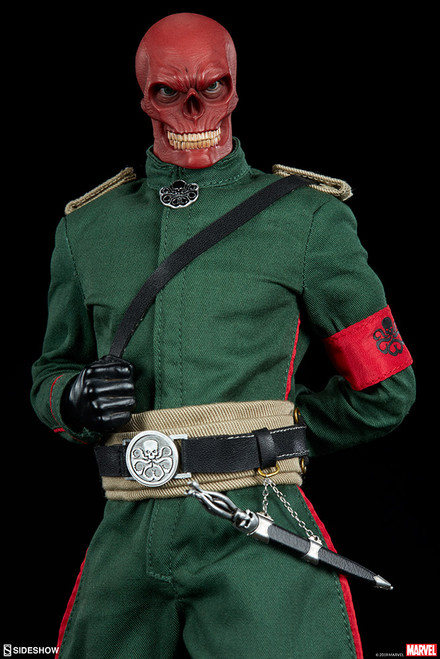 Marvel's RED SKULL Sixth Scale HYDRA Figure 1:6 by Sideshow Collectibles
