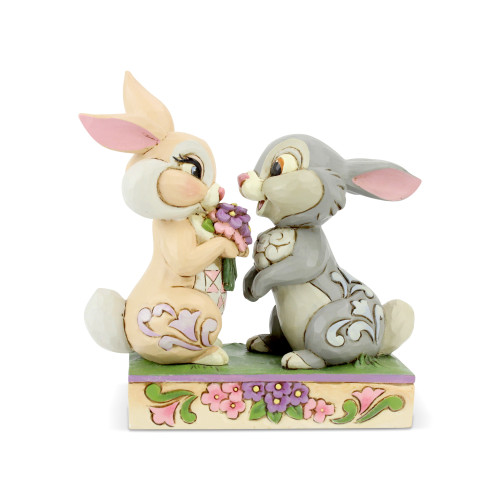 Bambi's THUMPER AND BLOSSOM by Jim Shore & Disney Traditions