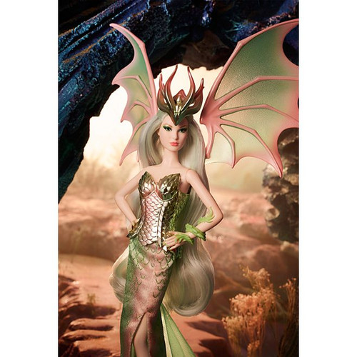 Barbie® Dragon Empress™ Mythical Muse Gold Label Doll