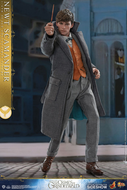 NEWT SCAMANDER Fantastic Beast Sixth Scale Figure by Hot Toys 1:6 Figure_MMS512