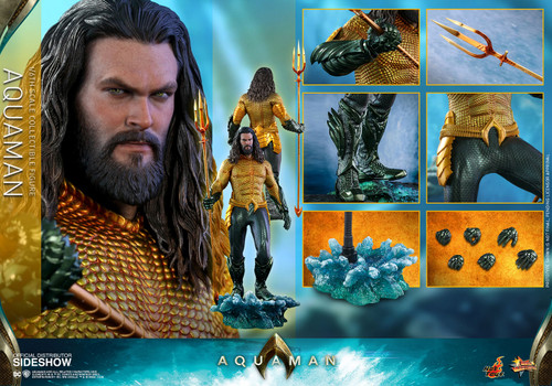 AQUAMAN Sixth Scale DC Figure by Hot Toys MMS518