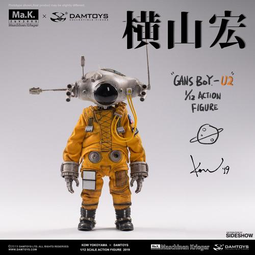 Gans Boy - U2 Action Figure by Damtoys x Kow Yokoyama - 1:12 Scale