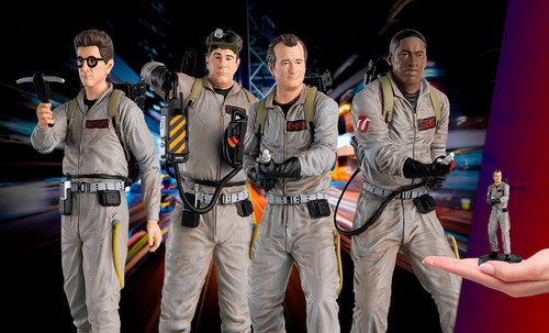 GHOSTBUSTERS Collectible Figurine Box Set by Eaglemoss