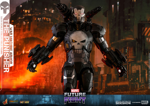Marvel Future Fight THE PUNISHER WAR MACHINE ARMOR Sixth Scale Figure by Hot Toys VGM33-D28