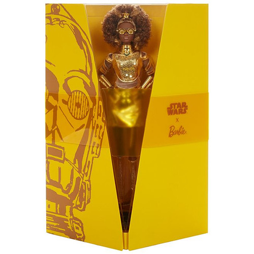 Star Wars™ C-3PO x Barbie® Gold Label Doll_GLY30