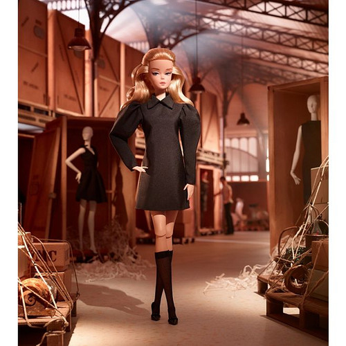Barbie® Best In Black™ GOLD LABEL Poseable Silkstone Doll GHT43