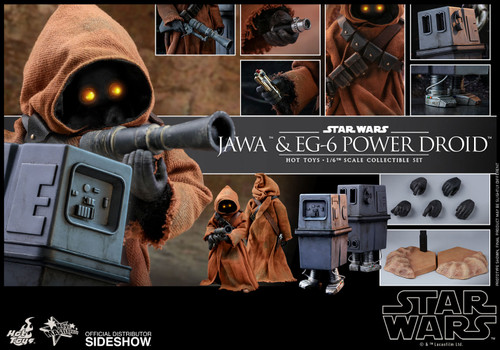 Star Wars Jawa & EG-6 Power Droid Sixth Scale Figure Set