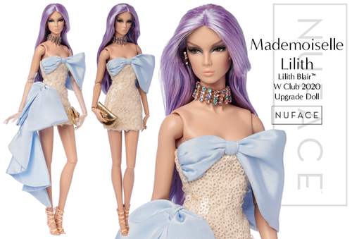 2020 MADEMOISELLE LILITH Lilith Blaire™ Fashion Royalty Dressed Doll
