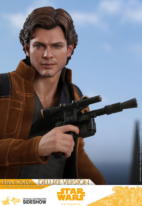 Solo: A Star Wars Story HAN SOLO DELUXE VERSION Hot Toys 1:6 Figure