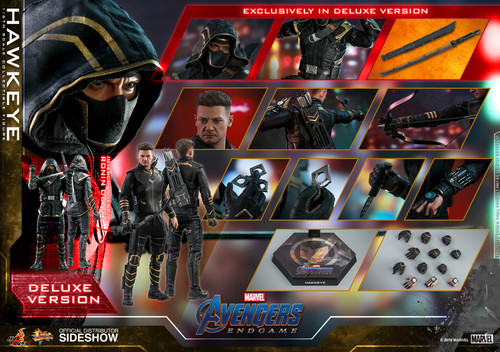 Hot Toys HAWKEYE AKA RONIN (Deluxe Version) Sixth Scale Collectible Figure