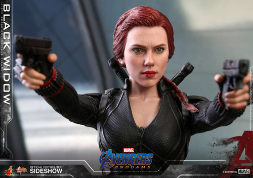 Hot Toys BLACK WIDOW Sixth Scale Collectible Figure from Avengers: Endgame MMS533