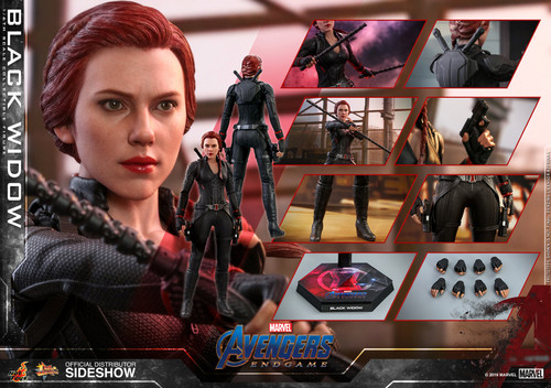 Hot Toys BLACK WIDOW Sixth Scale Collectible Figure