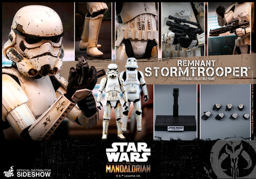 Disney's Mandalorian REMNANT STORMTROOPER Sixth Scale Figure