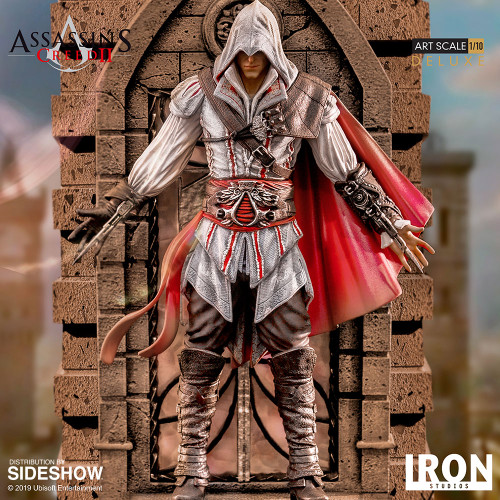 EZIO AUDITORE (DELUXE) Statue by Iron Studios 1:10 Art Scale ASSASSIN'S CREED II