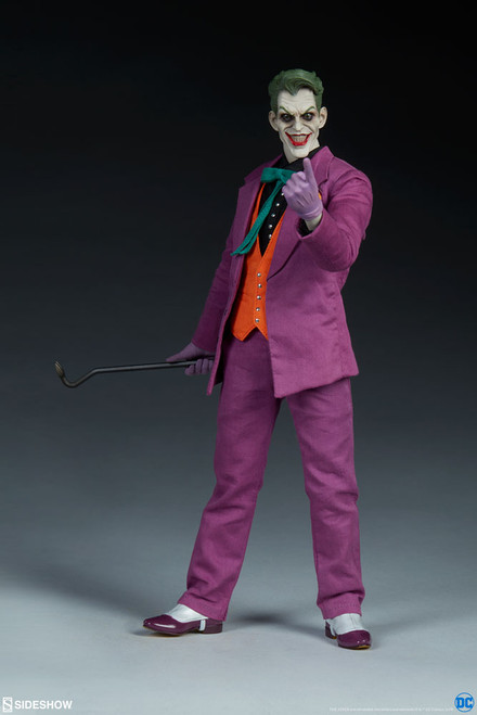 2019 THE JOKER DC Comics & Sideshow Collectibles 1:6 Scale Figure_NRFB