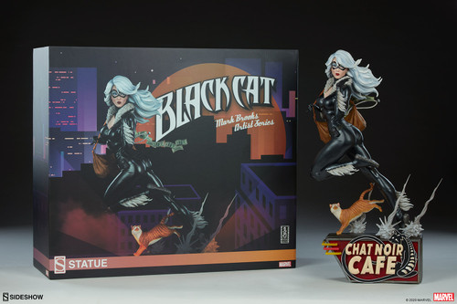 Sideshow Collectibles Spider-Verse BLACK CAT Statue by Artist Mark Brooks