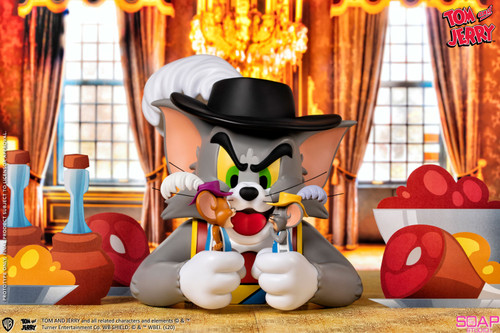 TOM and JERRY and TUFFY Musketeers Bust by Soap Studios