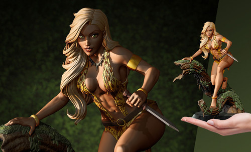 "SHEENA STATUE ""Queen of the Jungle"" by J. Scott Campbell DYNAMITE ENTERTAINMENT"