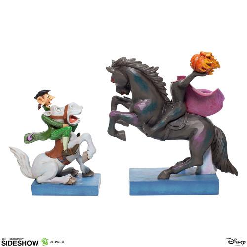"Disney's Sleepy Hollow & Headless Horsman ""HEADS UP, ICHABOD!"" by Jim Shore"