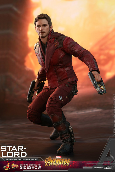 Avengers: Infinity War STAR-LORD (Chris Pratt) Hot Toys MMS539 Sixth Scale Marvel Figure
