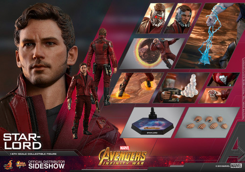 Avengers: Infinity War STAR-LORD (Chris Pratt) Hot Toys MMS539