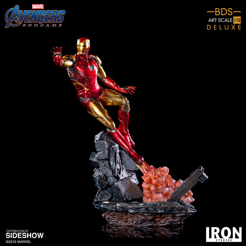 Avengers: Endgame IRON MAN Mark LXXXV (Deluxe) 1:10 Scale BDS Art Statue by Iron Studios (Battle Diorama Series)