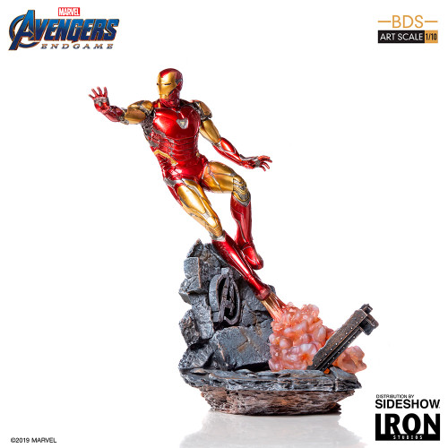 Avengers: Endgame IRON MAN Mark LXXXV 1:10 Scale BDS Art Statue by Iron Studios