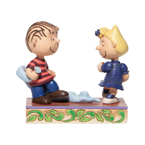 "Peanuts ""CHRISTMAS DANCE"" Featuring Linus and Sally by Jim Shore"