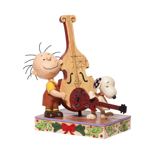 """Peanuts """"MERRY MELODY"""" Featuring Pigpen and Snoopy by Jim Shore"""