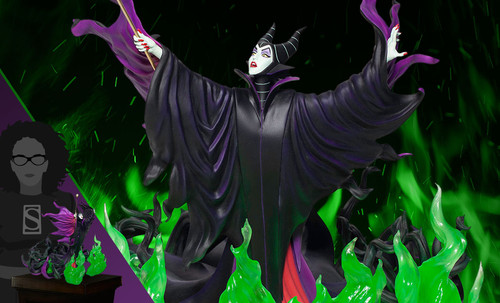 "Disney's MALEFICENT 13"" Statue by Grand Jesters Studios"